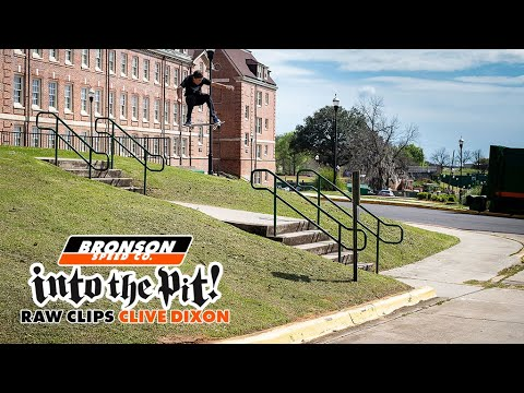 "Clive Dixon High Speed Hucks | ""Into The Pit"" RAW"