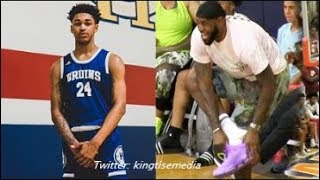 Bronny James Teammate Dior DEFENDS LeBron Celebrating & Reveals He Hasnt Seen His Own Dad In Years