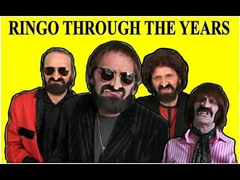 RINGO STARR THROUGH THE YEARS 1959 - 2013