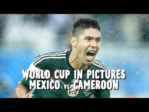 World Cup in Pictures: Oribe Peralta goal helps Mexico to three points vs. Cameroon