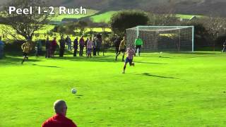 Season 2012-13: Peel 5-4 Rushen Utd