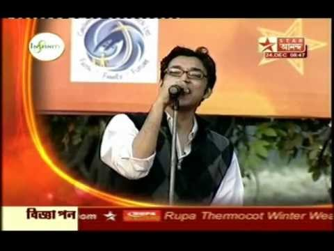 The Anupam Roy Band- Aaro Sheet (into Ei Sraabon) Live!!! on Star Ananda!