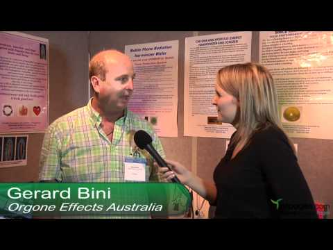 Orgone Effects Australia - interview at the Natural Health Conference and Expo - Sydney 2011