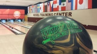 Webber Warrior Bowling Ball by Ebonite