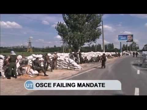 OSCE Failing in Ukraine: International observers admit they cannot function in conflict zone