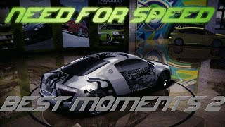NFS Best Moments 2 (NFS MW 2012, NFS Carbon, NFS MW 2005, NFS U2)