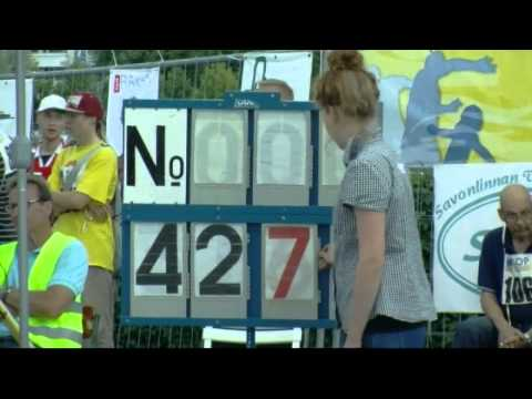 Mobile Phone Throwing World Championships take place in Finland