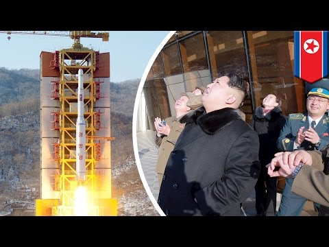 North Korea successfully launches long-range missile, puts satellite into space - TomoNews