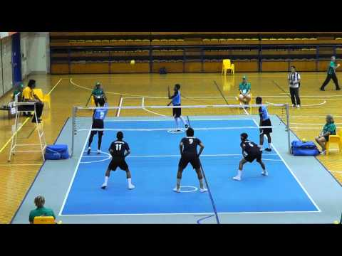 2011 Arafura Games  Sepaktakraw - Sports Authority Of Thailand V Terengganu (malaysia)(1of2) video