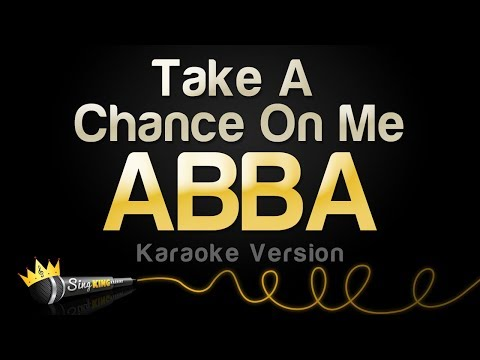 ABBA - Take A Chance On Me (Karaoke Version)