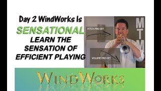 WindWorks FREE Day 2 - Learn the SENSATION of  free trumpet playing