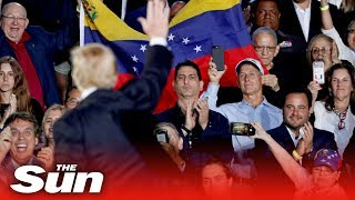 Trump's strong-worded warning to Venezuela's military