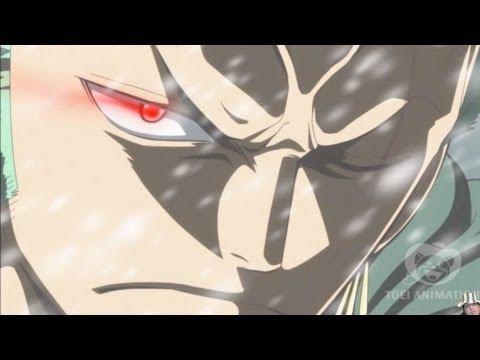One Piece Episode 613 ワンピース Review -- Zoro's Conqueror's King Haki Kills Monet?!?