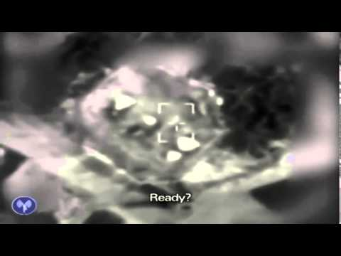 IDF Airstrike on Weapons Cache Causes Huge Explosion avi   Copy
