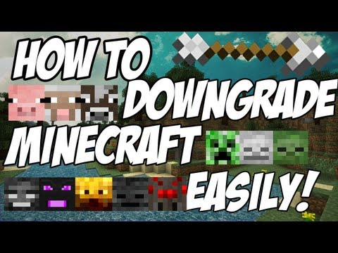 How to downgrade Minecraft 1.4.2 To 1.3.2 [OUTDATED] [Easiest Way] [Windows] [Mac]