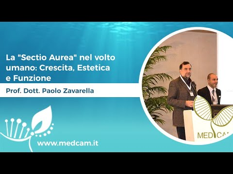 """La """"Sectio Aurea"""" nel volto umano: Crescita, Estetica e Funzione [...] - Prof. Dott. Paolo Zavarella"""