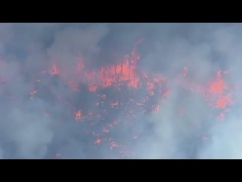 Western Australia ravaged by wildfires
