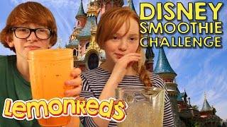 Can you guess the Disney song? | LemonReds Episode 34 | Disney Smoothie Challenge #disneychallenge