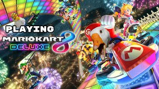 Super Mario kart 8 #1 (ft.fussyduck)