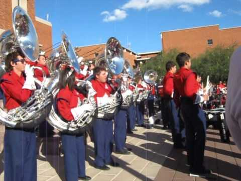 Pride of Arizona post-game concert, 11-10-12