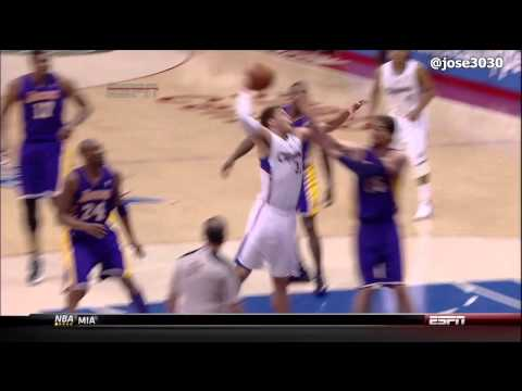  Pau Gasol Poster Dunk by Blake Griffin 