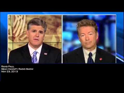 Rand Paul On Gitmo, IRS Scandal, Debt Ceiling, Immigration And Tax Reform - Hannity Radio 5/23/2013