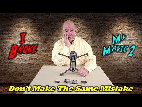 I Broke My Mavic 2 Zoom - Don't Make This Same Mistake