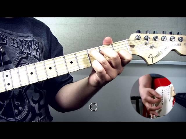 Cobra Starship - Never Been In Love  Guitar Tutorial