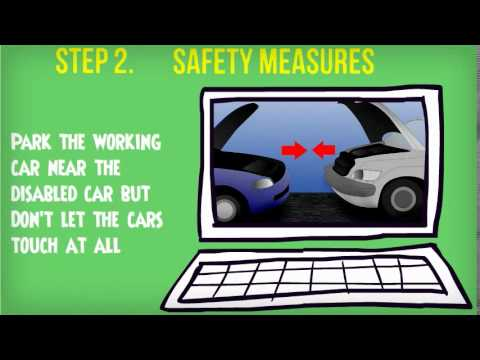 How to Jump Start your battery car - Towing Sugar Land