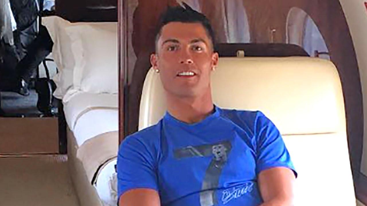 Cristiano Ronaldo's Plane CRASHES