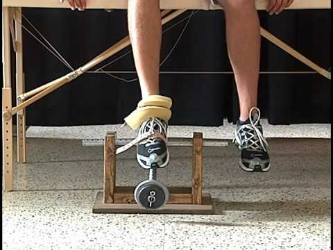 machine for ankle