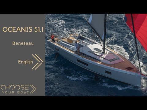 OCEANIS 51.1 - Beneteau: Guided Tour Video (in English)