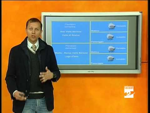 Previsioni meteo 7-12 aprile 2013 Valle Seriana Antenna 2 TV