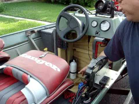 2003 Tohatsu (Nissan) MD50A 50 hp TLDI 2-Stroke Outboard (Power Trim & Tilt)