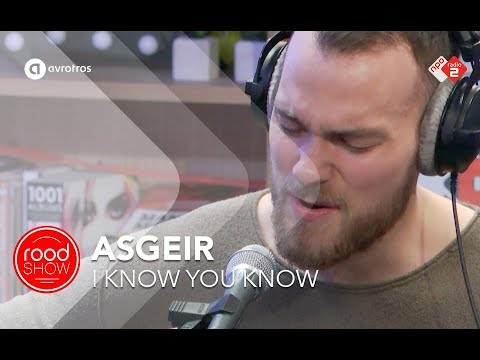 Asgeir - I Know You Know live @ Roodshow Late Night