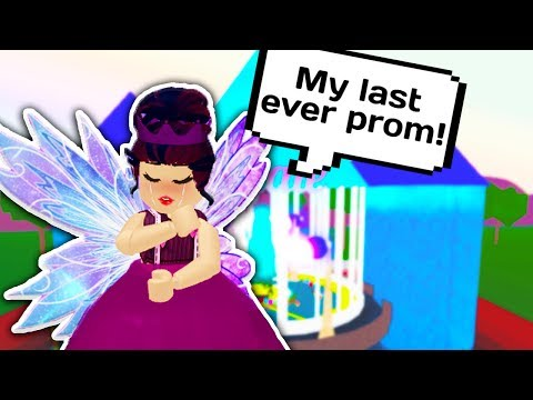 MY LAST PROM! WILL I BECOME PROM QUEEN ONE LAST TIME? 👑 // Roblox Royale High School