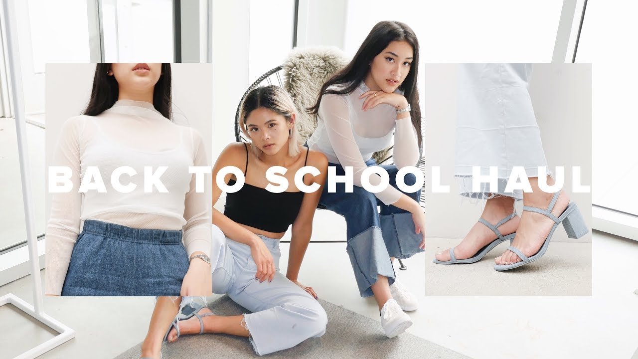 BACK TO SCHOOL HAUL 2017 | ToThe9s