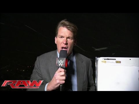 JBL gives a weather report from the roof of WWE Headquarters: January 26, 2015