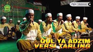 QUL YA ADZIM VERSI TARLING Suket Teki Babul Musthofa Live Randujajar | MFA Sholawat Channel