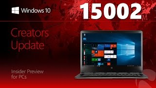 Windows 10 Build 15002 – Edge, Параметры, Dynamic Lock