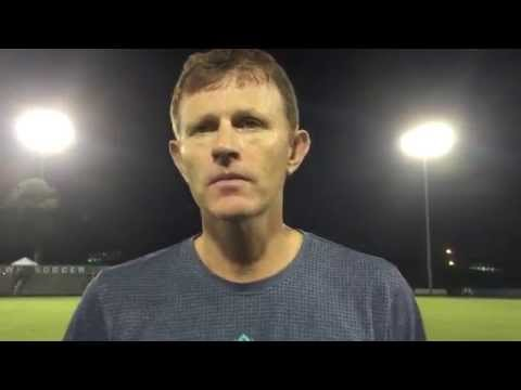 Coach Aidan Heaney Post-Game Interview vs. North Florida