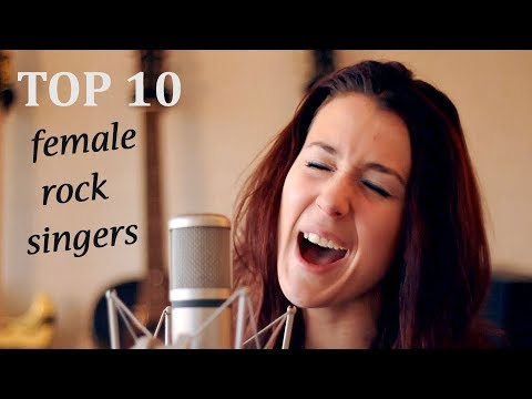 Top 10 Female Rock Singers - with Karl Golden!