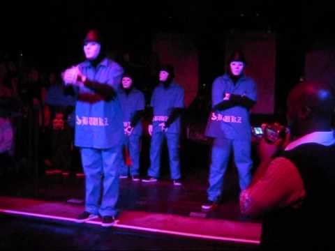 Jabbawockeez - JET Performance 5/30/09 (Part 1 of 2) Video