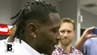 Antonio Brown deals with constant misunderstandings | Postgame interviews