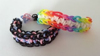 Rainbow loom Nederlands, California bracelet, armband