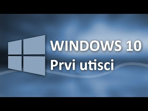 Windows 10   [ Osnove & prvi utisci ]