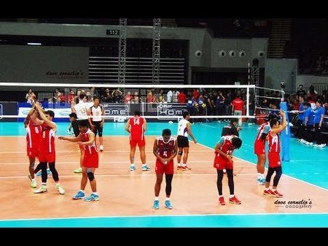 PHILIPPINES vs MONGOLIA Set1-Part1 - 2014 AMVCC