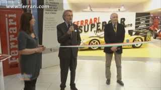 Ferrari Opens Museum in Maranello