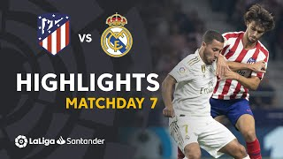 Highlights Atletico Madrid vs Real Madrid (0-0)