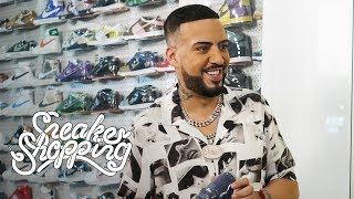 French Montana Goes Sneaker Shopping With Complex
